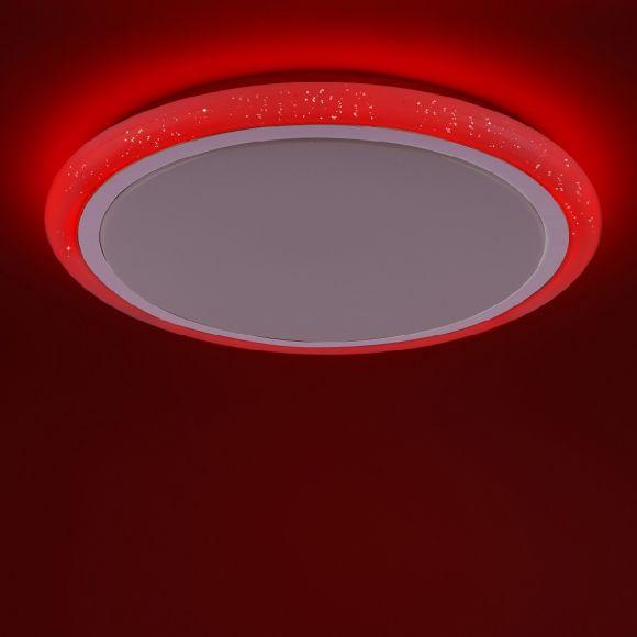LED Deckenleuchte, Fernbedienung, Farbwechsel, getrennt schaltbar