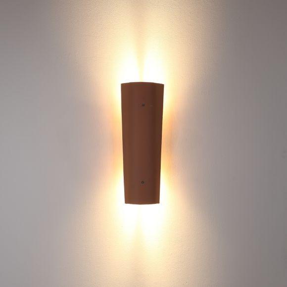 led dachziegel au enleuchte up down rosso liscia 45cm wohnlicht. Black Bedroom Furniture Sets. Home Design Ideas