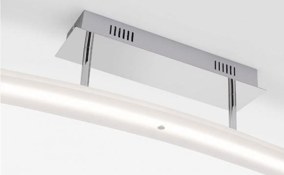 LED- Deckenleuchte in Chrom - inklusive 1x 22,7 W LED - 1420 Lumen