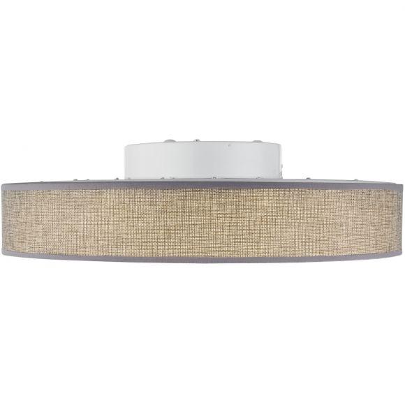 LED-Deckenleuchte Paco, Schirm 30 cm grau