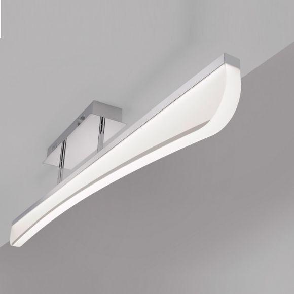 LED-Deckenleuchte - Chrom Acrylglas - 33,8W LED