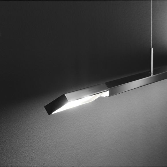 LED-Pendelleuchte Clareo 170cm, dimmbar in 2 Farben