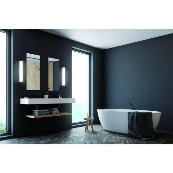 Led Wandleuchte Linienlampe Spiegelleuchte Badezimmer Ip44 Chrom Inkl 1x Led 6 Watt Warmweiss Wohnlicht