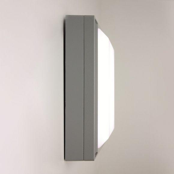 LED-Wandleuchte Sferio mit 13W - Gehäuse Weiß - Warmweiß 3000K