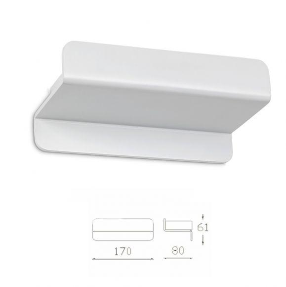 LED-Wandleuchte, modern, indirektes Licht, warmweiß
