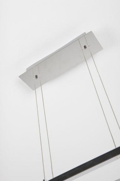 LED-Zugpendelleuchte Debi in Chrom