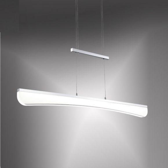 LED-Zugpendelleuchte Felina - Chrom Acrylglas - 33,8W LED