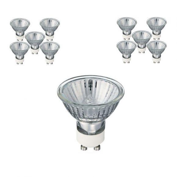 LHG QPAR 51 Halopar 16 ALU 28W/230V 35° GU10, 10er-Set