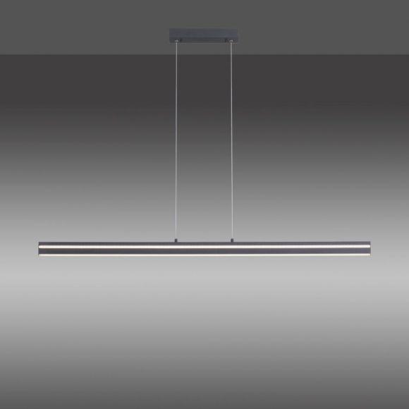 Pendelleuchte LED 51W, anthrazit o. silber, mit Fernbedienung, Smarthome
