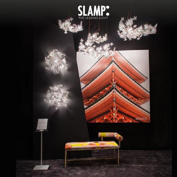 Slamp LED-Designer-Pendelleuchte Hanami