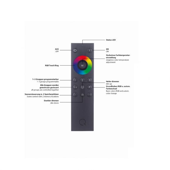 Smart Home Q®-Spider Lichtsystem Basisset