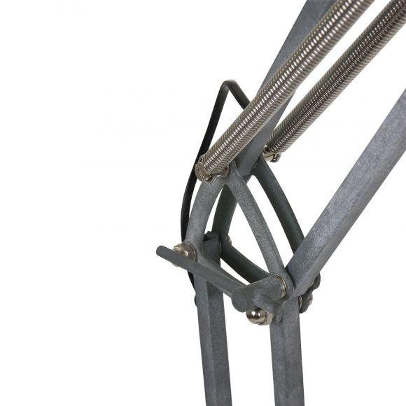 Stehleuchte Mexlite in Beton-Optik , Fußschalter