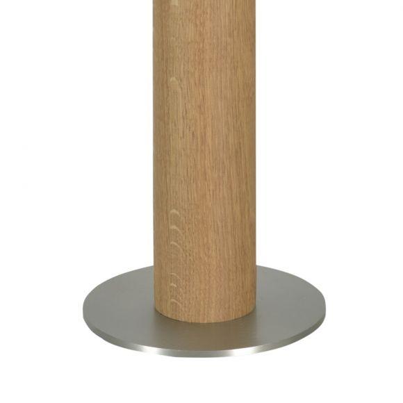 Tischleuchte Ronda von Herzblut mit Holz