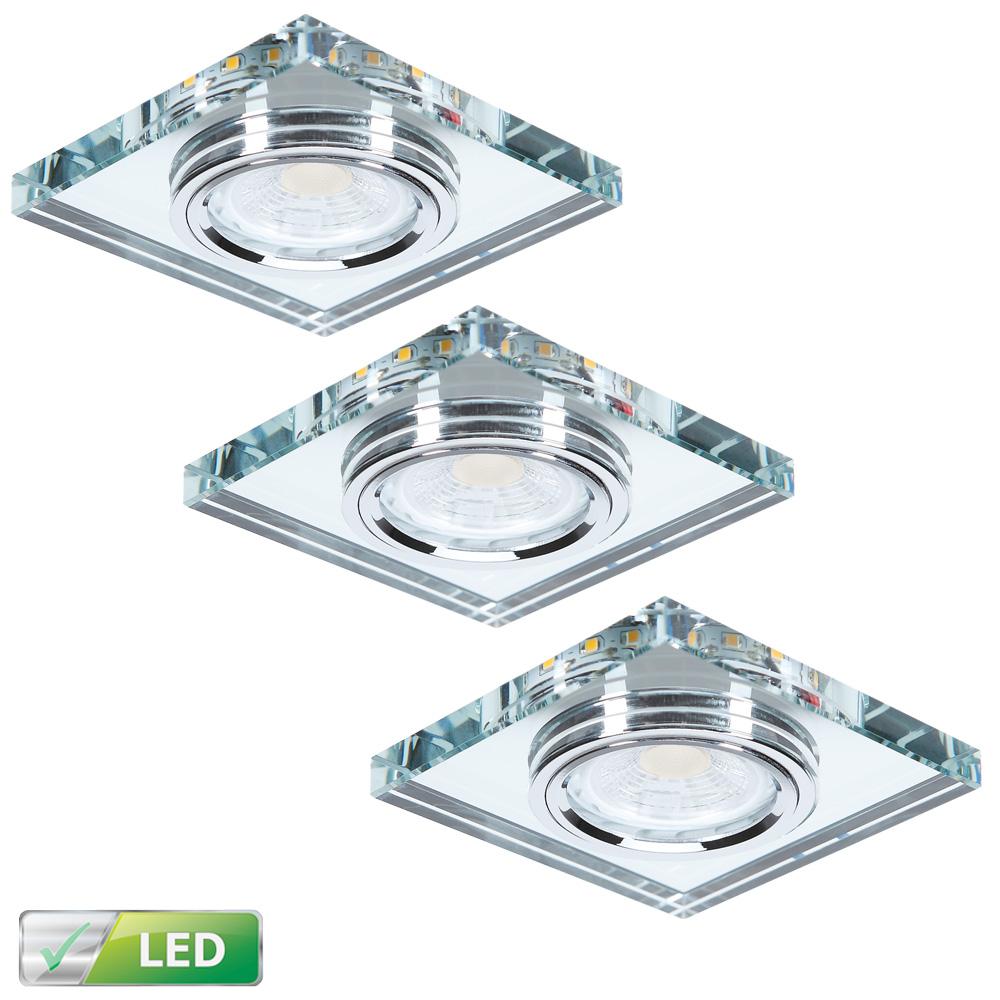 LHG Deckeneinbauleuchte, LED Hintergrundbeleuchtung, Glas