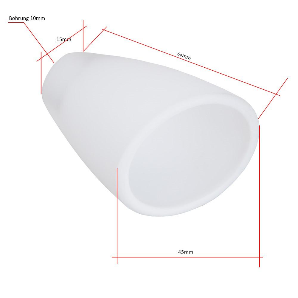 Ersatzglas opal Weiß