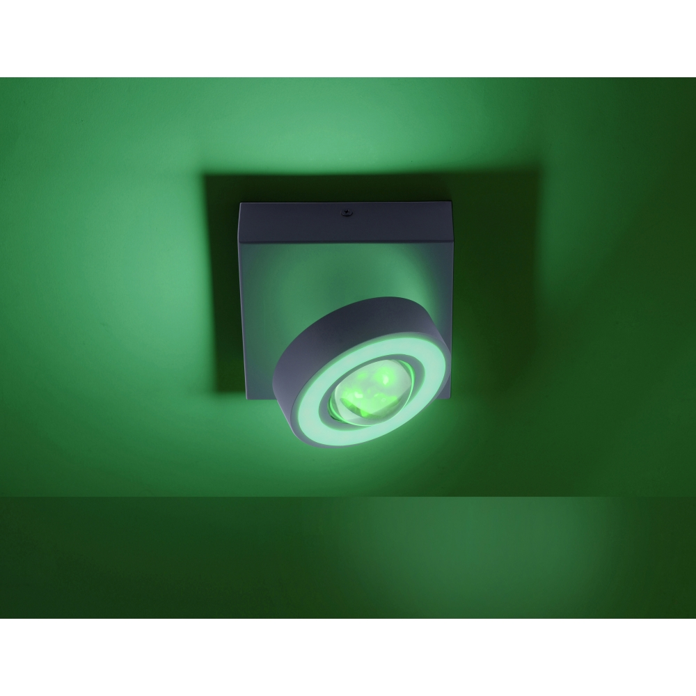 LED Deckenleuchte Q-MIA, Smart Home Strahler, RGB CCT