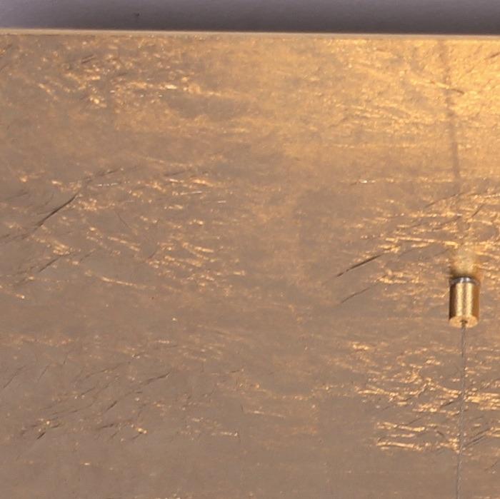 LED-Deckenleuchte Zen in Blattgold, 2 Größen