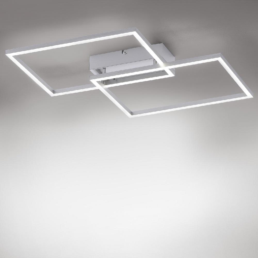 Moderne LED Deckenlampe Iven in zwei Größen