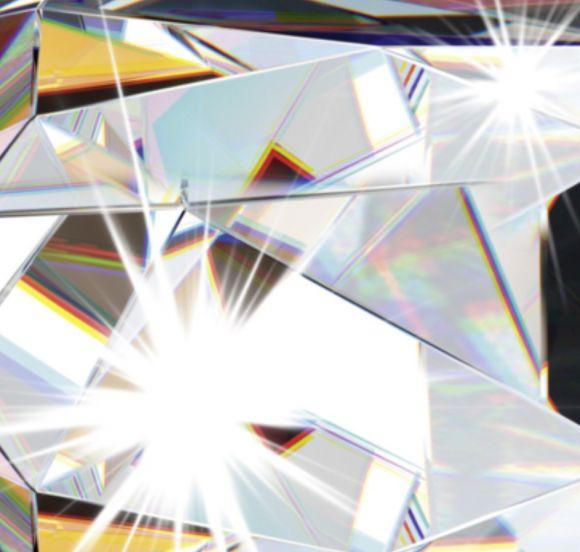 3-flg. LED Pendelleuchte mit klaren Glaskugeln und Kristallen