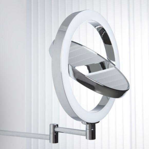 hochwertiger kosmetikspiegel mit kaltwei em led licht wohnlicht. Black Bedroom Furniture Sets. Home Design Ideas