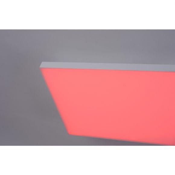 LED Deckenleuchte 45W 120x30cm, Smart Home, CCT RGBW per Fernbedienung