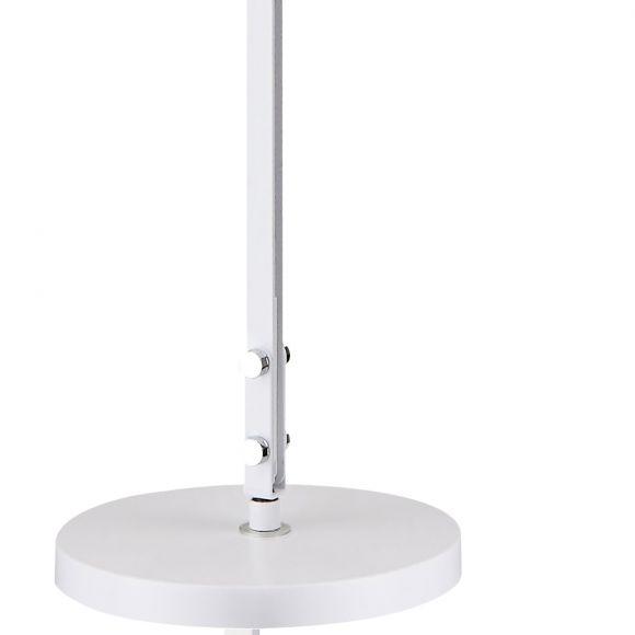 LED Stehleuchte, Leseleuchte, weiß, direktes Licht, verstellbar