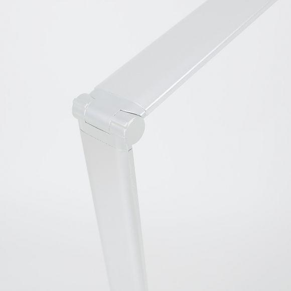 LED Tischleuchte Larena - in weiß - 6 fach dimmbar