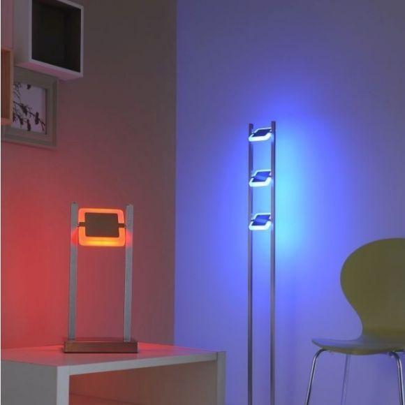 LED Tischleuchte Q-VIDAL, Smart Home ZigBee, Alexa tauglich, dimmbar