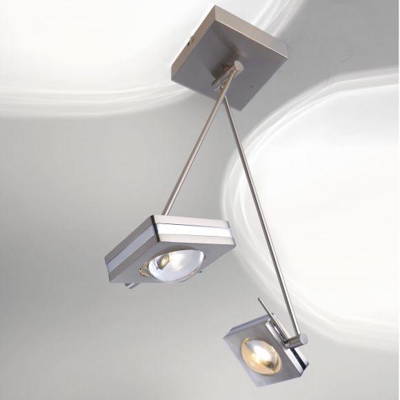 LED-Deckenleuchte, Smart Home, Fernbedienung, 2- o. 4-flammig