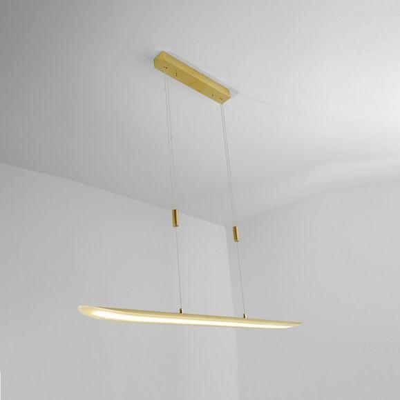 LED-Zugpendelleuchte - veredelte Oberfläche - 25W LED