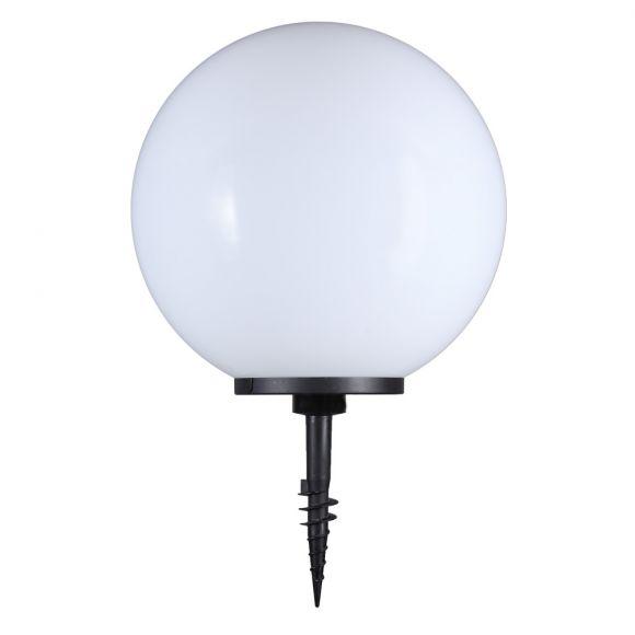 LHG Kugelleuchte, Gartenlampe, D = 30 cm, mit Erdspieß, dekorativ
