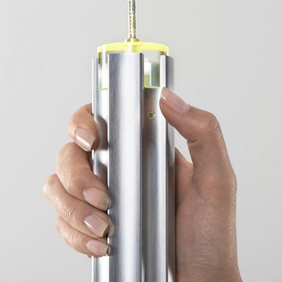 Liin 3-flg LED-Pendelleuchte Mantis mit Sensor