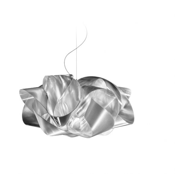 Slamp Designer-Pendelleuchte Fabula Lentiflex® weiß