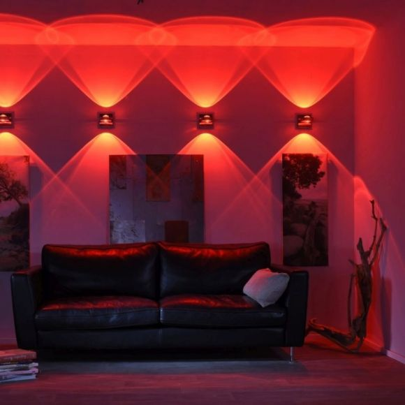 Smart Home Up&Down Wandleuchte Q®-FISHEYE, Alexa Sprachassistent