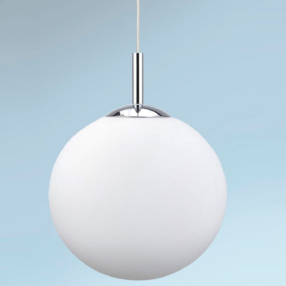 LED Pendelleuchte, Kugelleuchte, Fernbedienung, Farbwechsel, 2 Größen