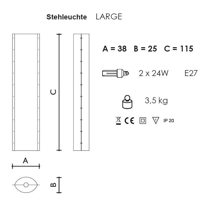 Stehleuchte Bios Tube von Slamp - in 2 Varianten