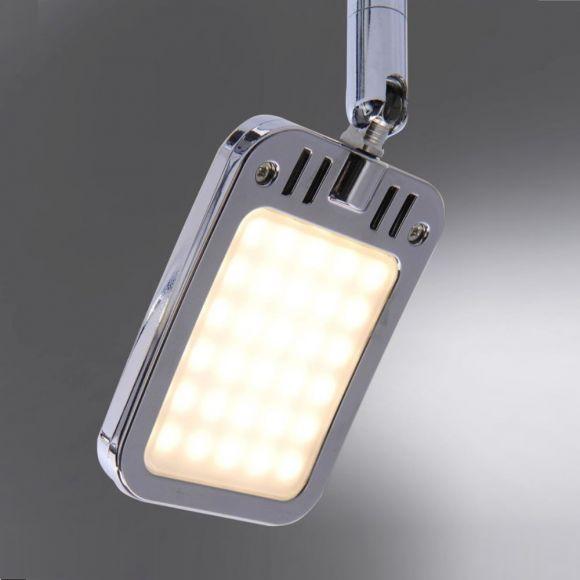 LED Deckenstrahler, rund, schwenkbare Spots