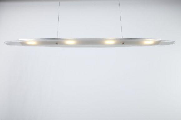 LED Pendelleuchte LED 4 x 3 Watt  + LED Taschenlampe