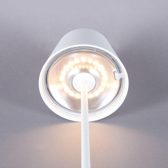 SIGOR NUINDIE 4501001 Akku LED Tischleuchte Terrassenleuchte Balkonleuchte schw.