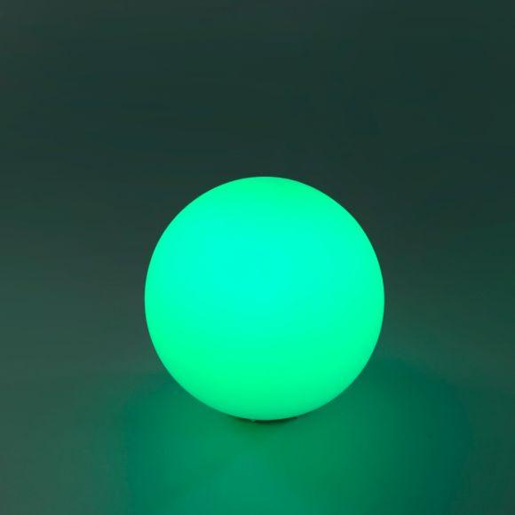 LED Tischleuchte, Kugel, Fernbedienung, Farbwechsel, dimmbar