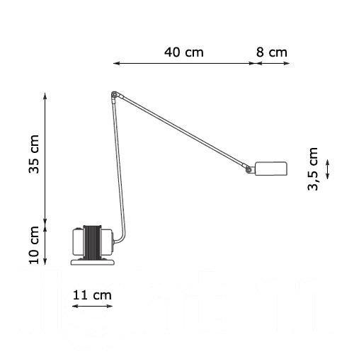 Lumina Daphine Classic mit 2 Stufen-Schalter