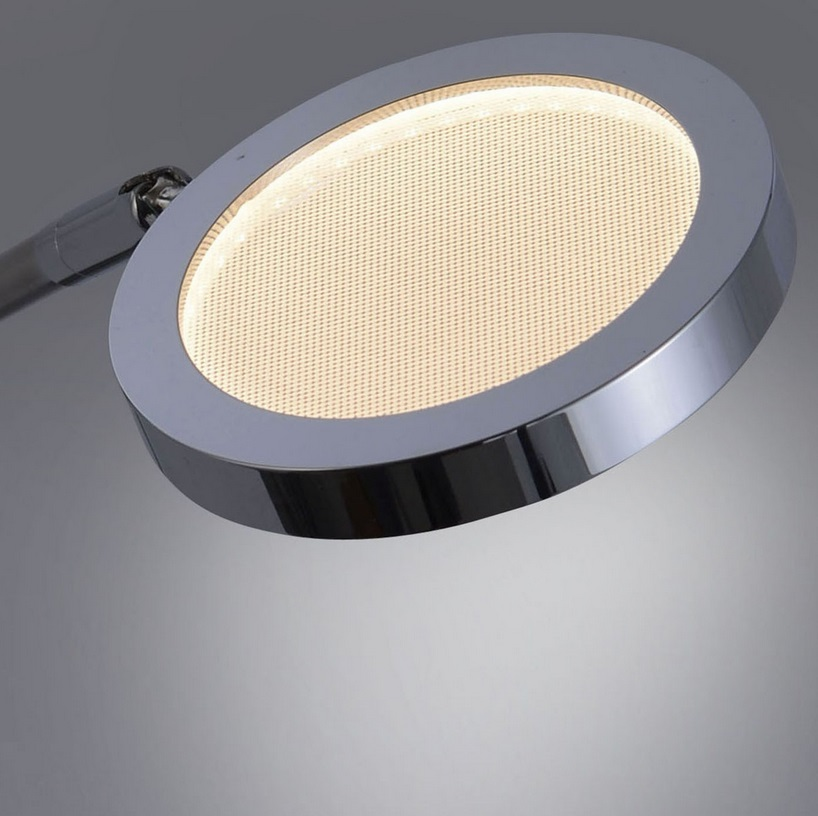 LED-Deckenleuchte Stahl/Chrom - inklusive High-Power 2x 4,6Watt LED