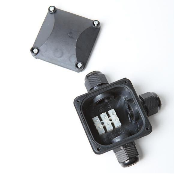 3er Verbindungsdose für den Außenbereich IP67 wasserdicht, Abzweigbox , Kabeldurchmesser 6-8mm , Kabelmuffe , Außenverteilerdose