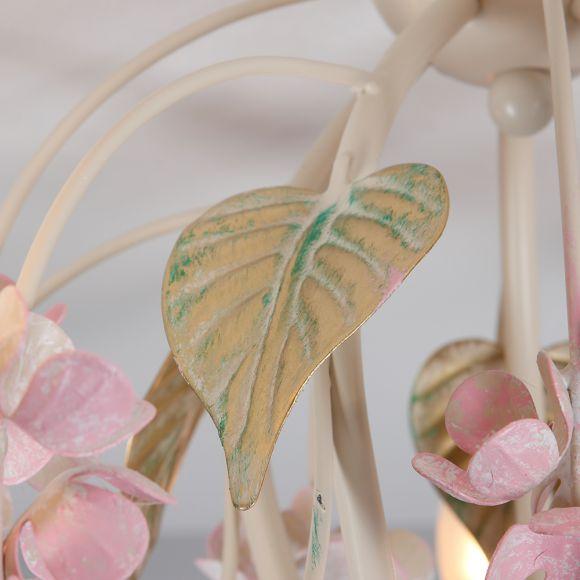 Romantisches Design Deckenleuchte Largo Höhe 38cm