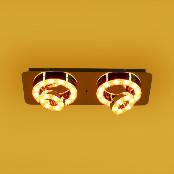 LED Deckenleuchte, Fernbedienung, Farbwechsel, Lichtfarbe wählbar