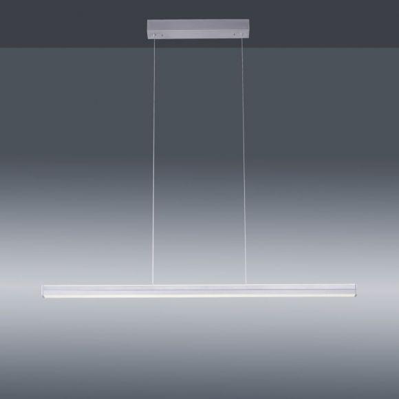 LED Pendelleuchte mit 2 getrennt schaltbaren Leuchtmitteln und Memory-Funktion, 100 cm