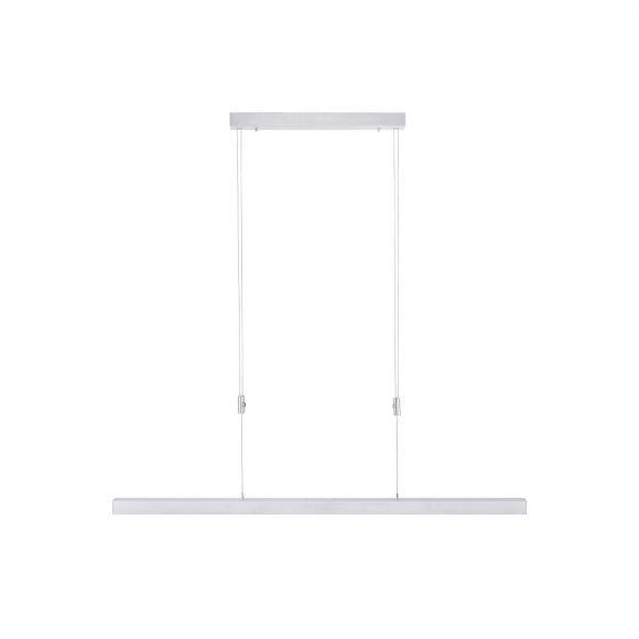 LED-Pendelleuchte Aluminium verstellbar, ausziehbar Touchdimmer