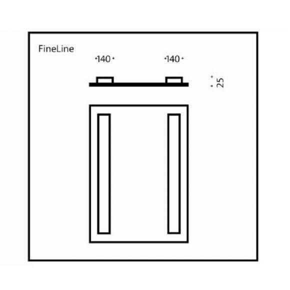 Top Light Spiegel FineLine - verschiedene Größen