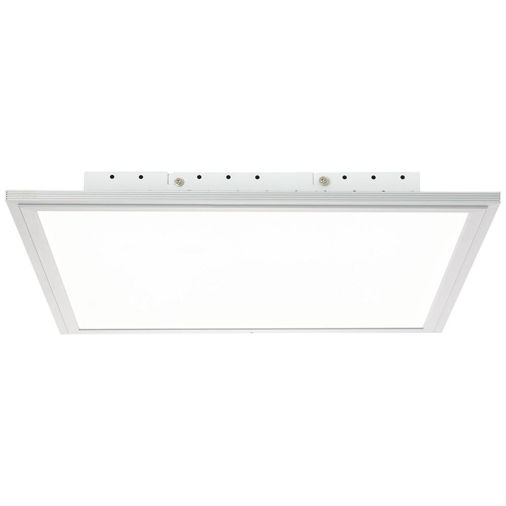 LED Panel, Aufbau-Deckenleuchte, Smart Home, dimmfähig, 75 x 75 cm