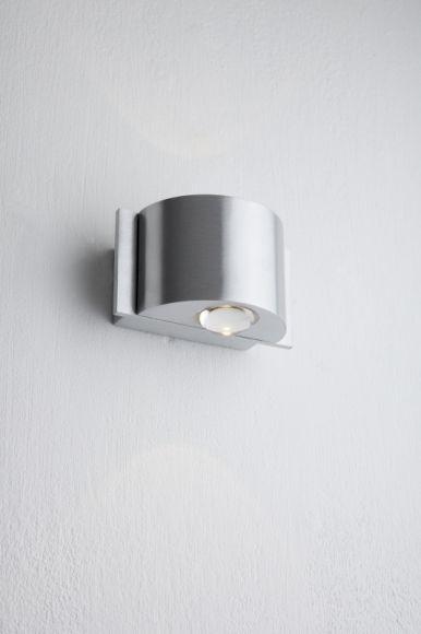 B-Leuchten LED-Aluminium-Wandleuchte in & outdoor
